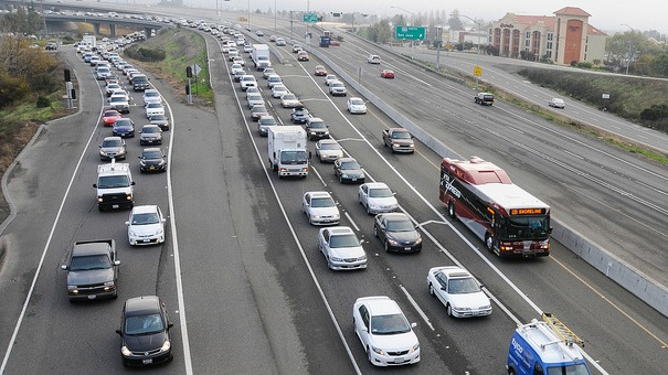 237 express lanes with VTA express bus
