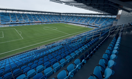 Empty Avaya Stadium