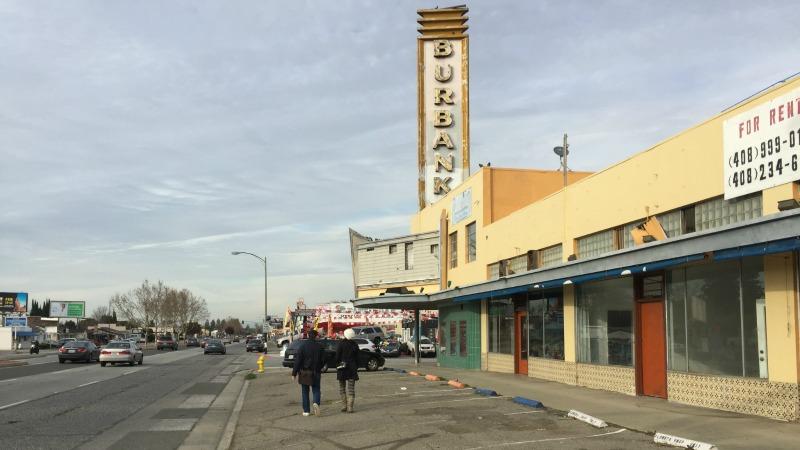 Burbank Theater on Bascom Avenue