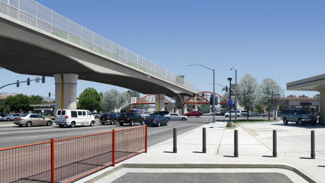 Capitol Light Rail simulation