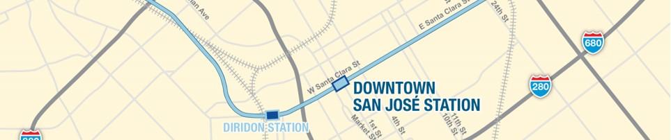 Downtown San Jose station image