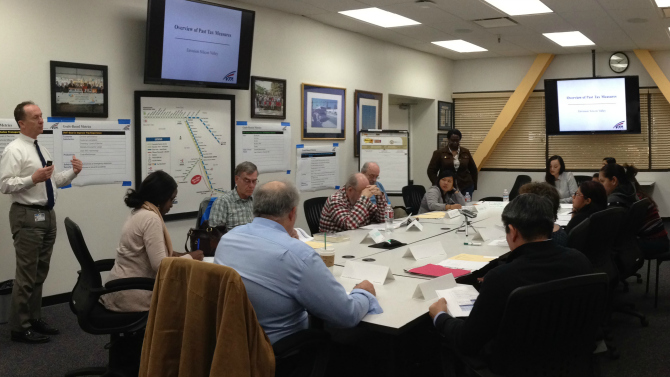 Envision Silicon Valley Feb 20 2015 meeting with Community Benefit Organizations