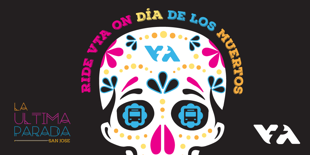La Ultima Parada logo with decorated skull artwork.