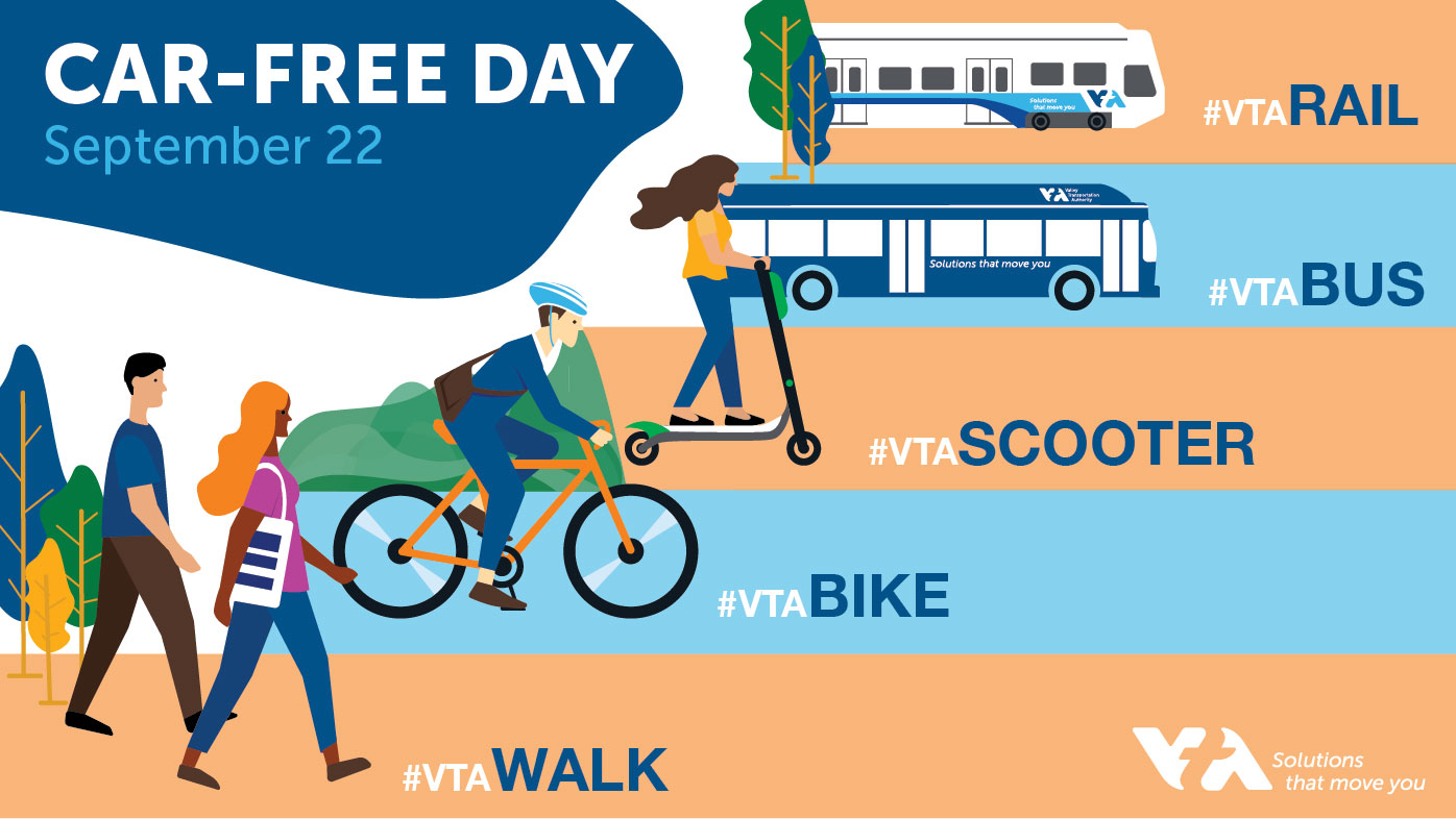 car free day graphic