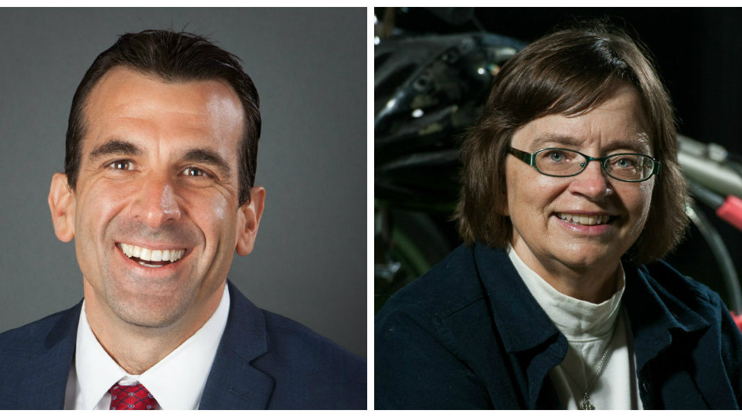 Mayor Liccardo and Council member O'Neill
