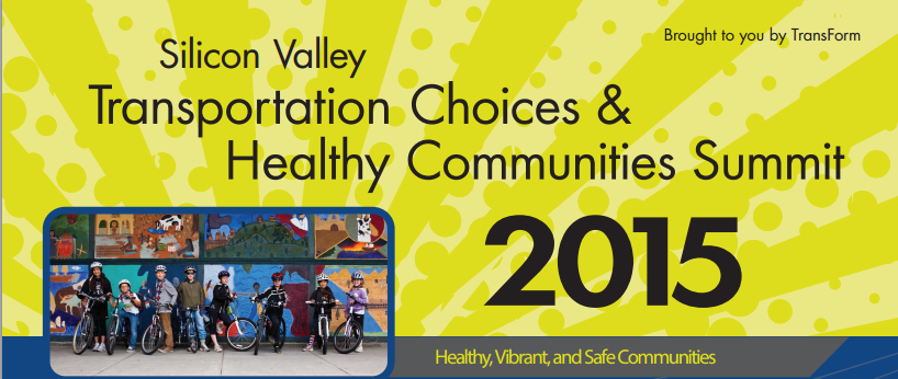Silicon Valley Transportation Choices and Healthy Communities Summit 2015 event logo