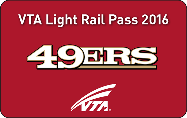 49ers VTA Season Pass