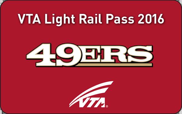 49ers VTA Season Pass