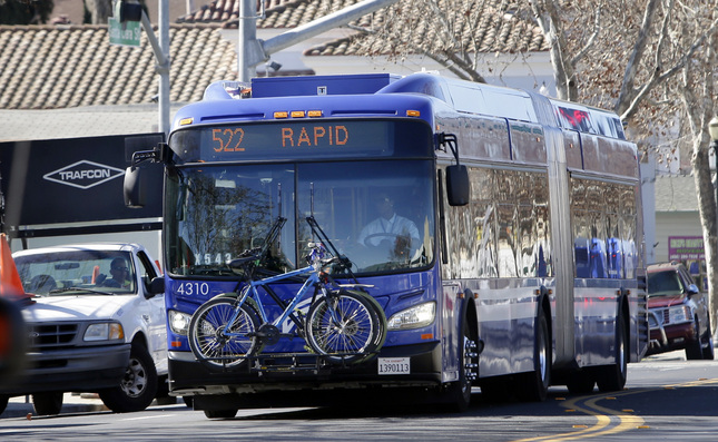 Photo of new VTA buses