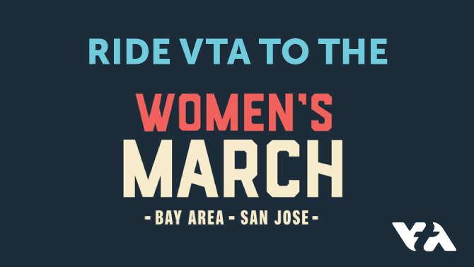San Jose Women's March graphic