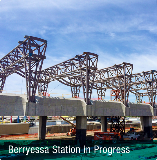 Image of Berryessa Station rendering