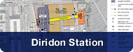 Image of Diridon Station button to click to page