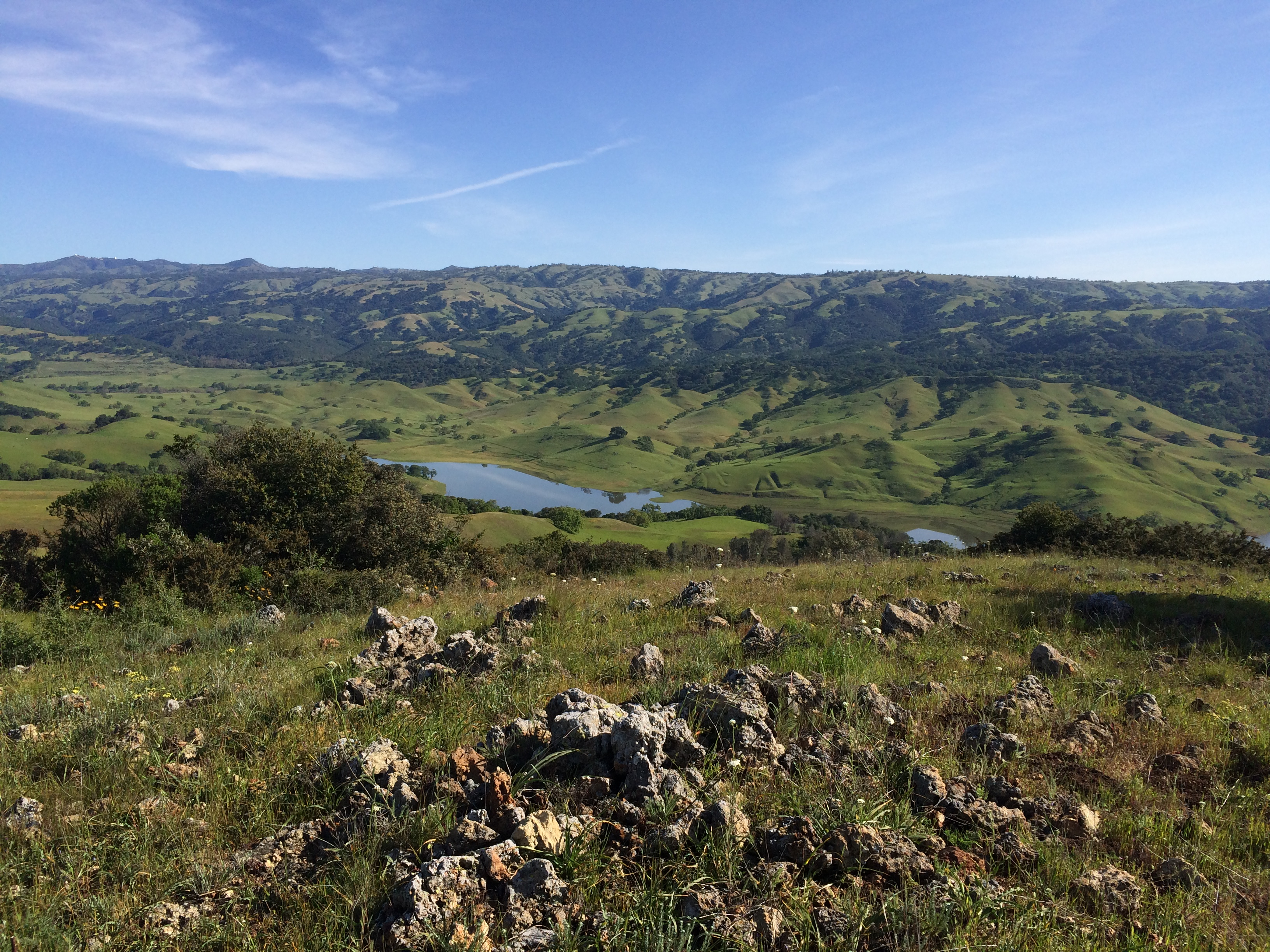 View from Coyote Ridge in South San Jose