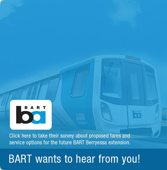 Take Bart survey image banner