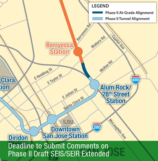 Deadline to Submit Comments on Phase II Draft SEIS/SEIR Extended