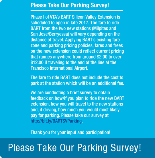 Parking survey image - click here to take survey