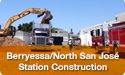 Berryessa/North San José Station Construction Image Gallery