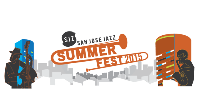 San Jose Jazz promotional graphic