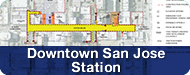 Image of Downtown San Jose Stations button to click to page