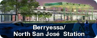 Image of conceptual rendering of the future Berryessa station exterior. Click here to link to the Berryessa Station page.